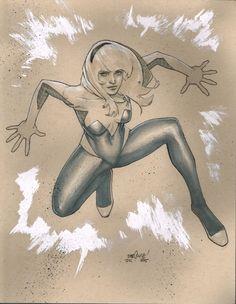 Spider-Gwen by David Marquez