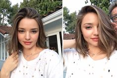 Take a look at the best miranda kerr hairstyles in the photos below and get ideas for your cute outfits! Miranda Kerr Haircut, Miranda Kerr Short Hair, 50 Hair, Hair Day, Cabelo Miranda Kerr, Miranda Kerr Makeup, Pretty Hairstyles, Bob Hairstyles, Haircuts