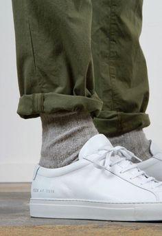 Pants (Colour, Fit) - Socks (Colour, Texture)