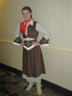 Annie Oakley Costume Child