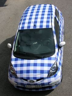 BB or a tablecloth look on your car?   carwrap