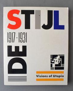 (arquitectura ) ( diseño ) de stijl 1917 1931 vision utopia