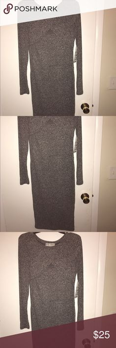 Selling this BWT grey bodycon dress on Poshmark! My username is: krgr11. #shopmycloset #poshmark #fashion #shopping #style #forsale #Almost Famous #Dresses & Skirts