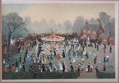 Daisy Nook Fair by Helen Bradley.