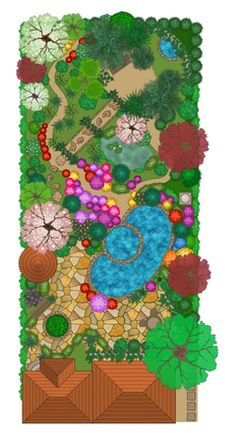 The Landscape and Gardens solution for ConceptDraw DIAGRAM is the ideal drawing tool when creating landscape plans. Any gardener wondering how to design a garden can find the most effective way with Landscape and Gardens solution. Free Landscape Design, Landscape Plans, Landscaping Ideas, Garden Landscaping, Garden Solutions, Drawing Tools, Kids Rugs, Architecture, Drawings