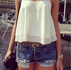 Women Lady Sexy Summer Sleeveless Spaghetti Strap Shirt Chiffon Vest Top Tank Blouses