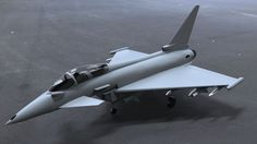Euro Fighter 2000 – free 3D model ready for CG projects. Available formats: Other, SolidWorks (.sldprt, .sldasm, .slddrw), Stereolithography (.stl)