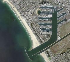 Marina del Rey California - once the world's largest marina; still may be at 10,000 + boat slips
