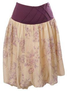 Women's Lauren Kiyomi Printed Cotton Voile Bubble Skirt (Maternity) - More Colors Available