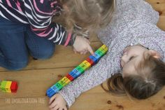 Using lego to measure objects