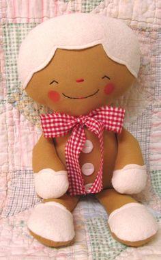 Little Felt Gingerbread Boy