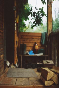 porch by groosha, via Flickr