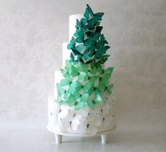 EDIBLE CAKE TOPPERS 40 Ombre Edible by incrEDIBLEtoppers on Etsy