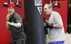"""{    BOXING PROGRAM GIVES PARKINSON'S PATIENTS A CHANCE TO FIGHT BACK    }   #LexingtonHeraldLeader #TITLEBoxingClub .... """"We couldn't be more proud of TITLE Boxing Club Lexington for fighting back against Parkinson's with Rock Steady Boxing!"""" .... http://www.kentucky.com/living/health-and-medicine/article67740197.html"""