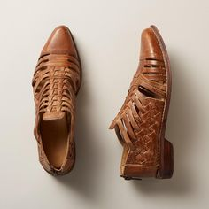 GRACIA SHOES -- These handwoven, huarache-inspired shoes by BedStü are delightfully versatile thanks to a sleek,…