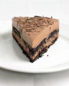 Chocolate-Ricotta Icebox cake from MarthaStewart.com.  Easy, great for a summer picnic and yummy.