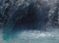 work in progress, coastal oil painting by David Ladmore  see finished paintings at www.davidladmore.com art, artist, illustration, landscape, cornwall, jurassic coast, sea cave, crystal, elemental, ocean, sea, waves, surf, storm, dark, mysterious