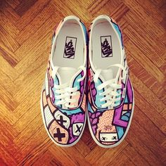 RAWRR. New Sloth classic lace up Vans #iamsloth #fashion #vans