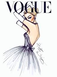 fashion illustrations - Vogue