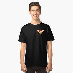 'American Football logo' Classic T-Shirt by Kermit, Samsung, Galaxy, Tshirt Colors, Vintage Patterns, Memes, Chiffon Tops, V Neck T Shirt, Shirt Designs