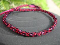 Button & Loop Closure for Kumihimo