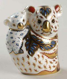 Royal Crown Derby Imari Paperweight Collection Koala Baby No Box 5715168   eBay