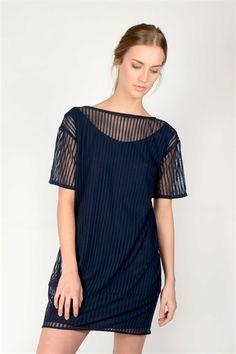 Traci Dress  http://relatedapparel.com/Traci-Dress.aspx  #ss15 #fashion #dress #navy #ootd #summer #lookoftheday