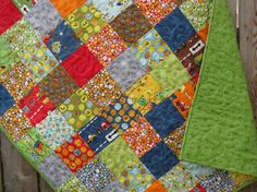 All Boy Quilt Ten Little Things I Spy by SunnysideDesigns2 on Etsy, $148.00