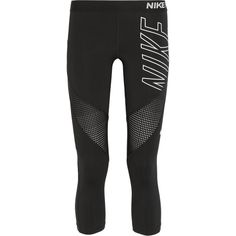 Nike Pro Hypercool Dri-FIT stretch-jersey leggings (170 BRL) ❤ liked on Polyvore featuring activewear, activewear pants, black, stretch jersey, nike sportswear, nike, nike activewear and nike activewear pants