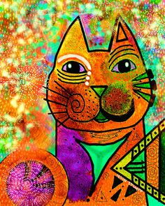 House Of Cats Series - Blinks by Moon Stumpp