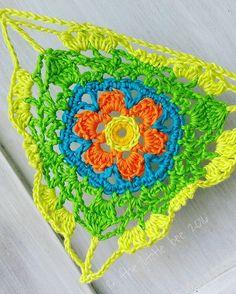 Crochet Boho Blossom bunting