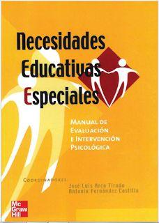 Mónica Diz Orienta: Manual de evaluación e intervención psicológica en  necesidades educativas especiales