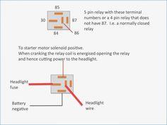 Bosch 4 Pin Relay Wiring Diagram For Doorbell Symbols Car