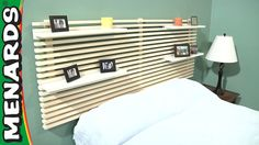 Mandal Headboard - How To Build - Menards.... (Ikea used to have this same headboard)
