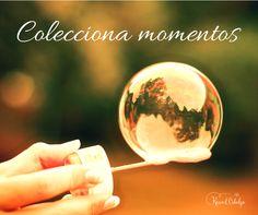 Te invito a coleccionar momentos en lugar de cosas. ¿Te animas?    www.raquelcabalga.com  