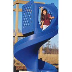 Cobra Coil Slide. Includes required shipping base. Playground Slides, Playgrounds, Base, Play Areas, Play Area Outside
