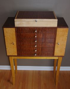 Jewelry Armoire by Tagge Woodworking