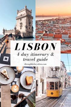 More Than 30 Lisbon Portugal Travel Guide Day Itinerary Thro. - Travel IdeasMore Than 30 Lisbon Portugal Travel Guide Day Itinerary Through Kelsey's Lens Travel guía de viaje de lisboa, Portugal Travel Guide, Europe Travel Guide, Travel Guides, Travel Packing, Sintra Portugal, Visit Portugal, Budapest, Cool Places To Visit, Places To Travel