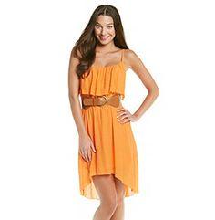 Summer Dresses for Juniors   homepage juniors dresses as u wish juniors high low gauze summer dress
