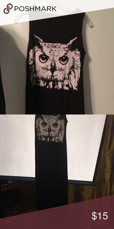 Owl maxi dress Slots up both sides. Fun Dresses Maxi