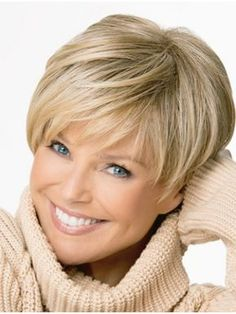 Straight Boycuts Blonde Gorgeous Short Wigs