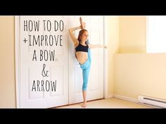 How to do a Bow and Arrow - YouTube