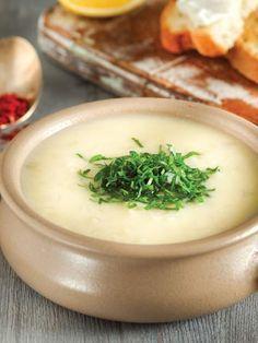 Terbiyeli kereviz çorbası Tarifi - Türk Mutfağı Yemekleri - Yemek Tarifleri