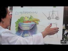 7. Dibujo y pintura. Composición 1 / Drawing and painting. Composition 1 - YouTube