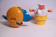 Vintage McDonalds Toys Transformers