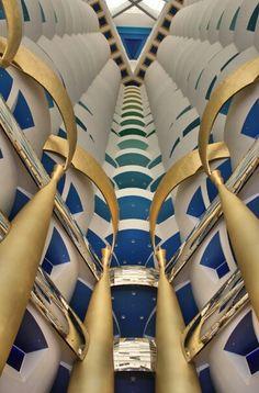 Interior de Burj Al Arab