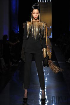 Jean Paul Gaultier Automne-hiver 2014-2015 - Haute couture - http://www.flip-zone.fr/fashion/couture-1/fashion-houses/jean-paul-gaultier-4812 - ©PixelFormula