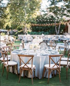 Dusty blue wedding reception decor idea 10