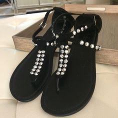 Shi by Journey's sandals Shi by Journey's sandals size 7. Black Shi by Journey's Shoes Sandals