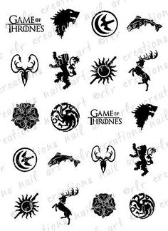 House Stark Sigil By Dutchlion Game Of Thrones Game Of